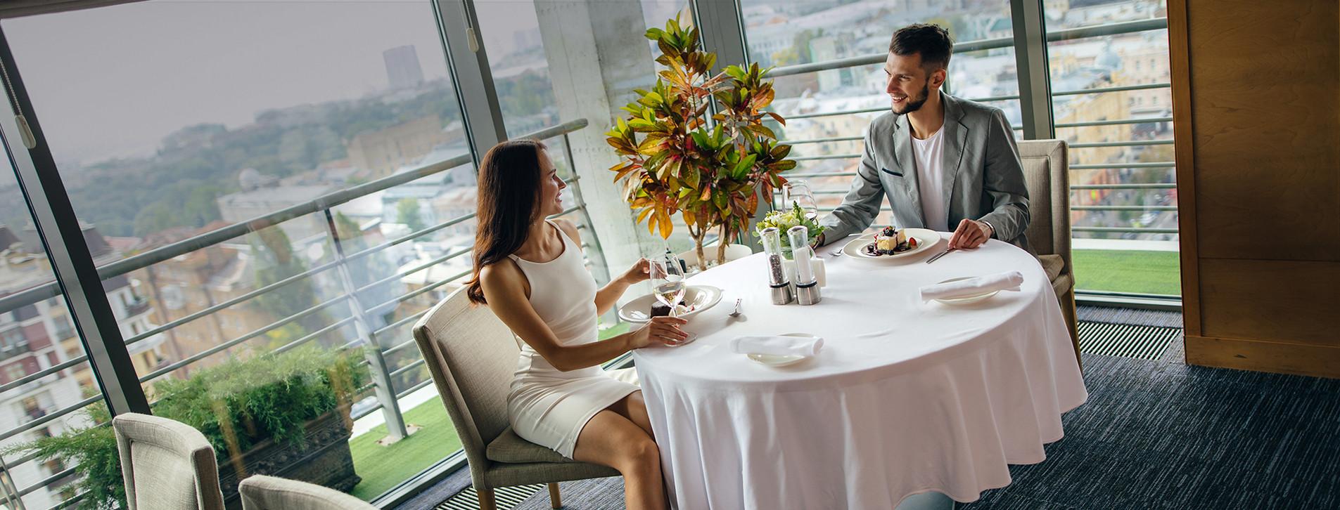 Фото 1 - Ужин в ресторане с панорамным видом