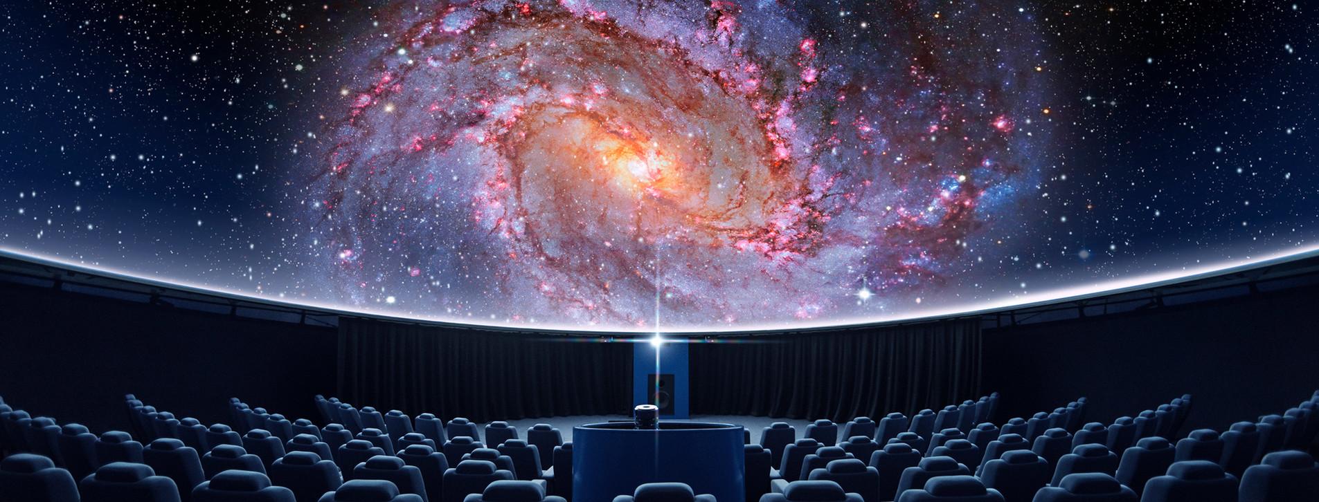 Фото - Сферический кинотеатр для компании