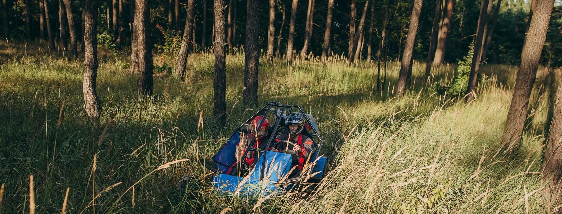 Фото 1 - Заезд на багги по лесу для компании