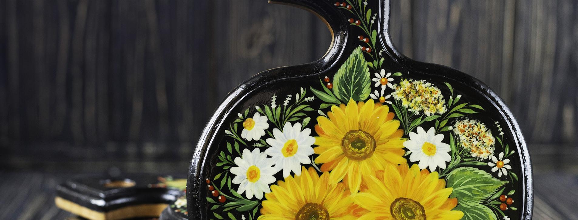 Фото 1 - Мастер-класс петриковской росписи для двоих