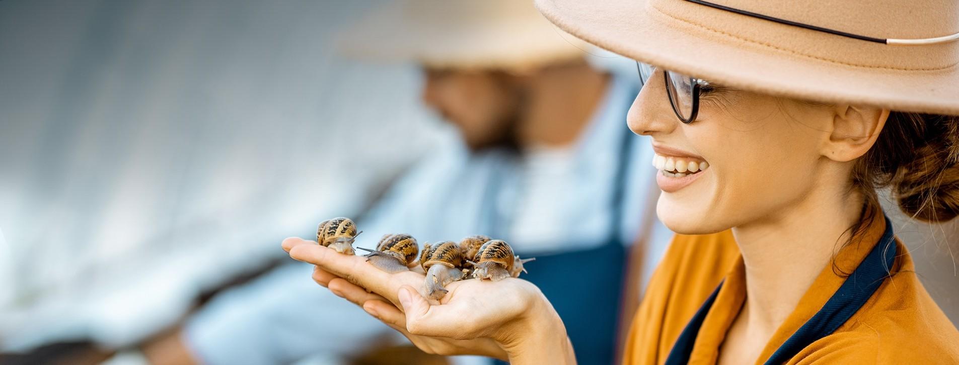 Фото 1 - Экскурсия на улиточную ферму с дегустацией