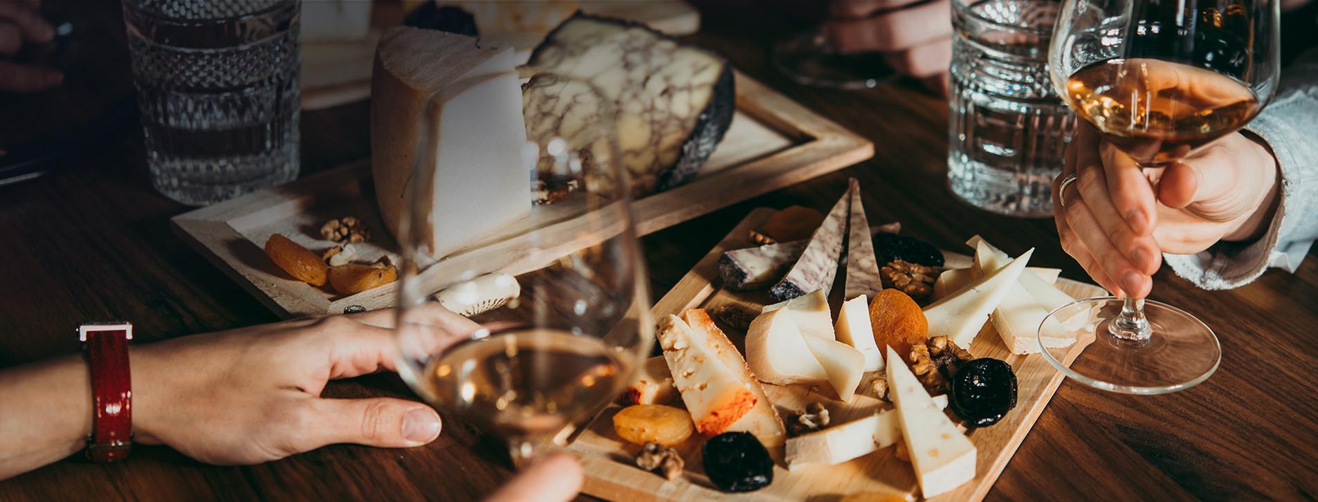 Фото 1 - Дегустация вина и сыра для компании