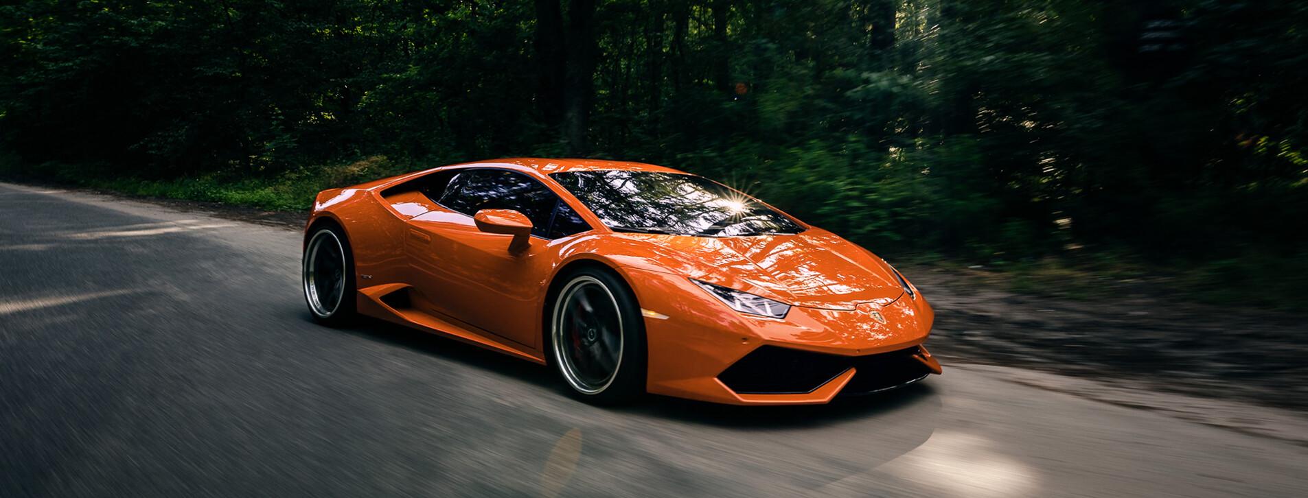 Фото - Тест-драйв суперкара Lamborghini для двоих