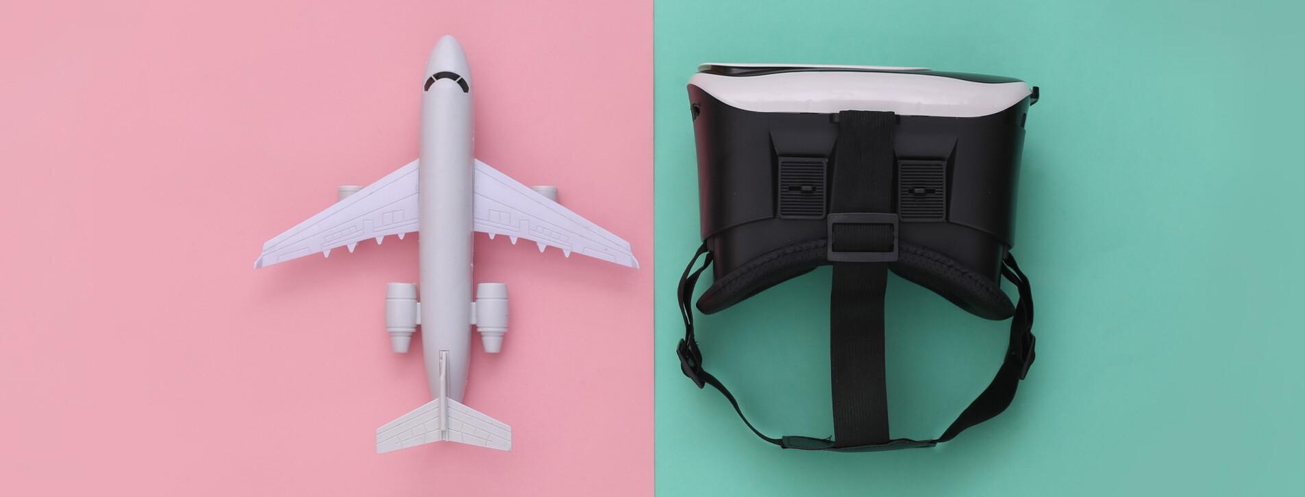 Фото 1 - Полет на авиасимуляторе в VR-очках для двоих