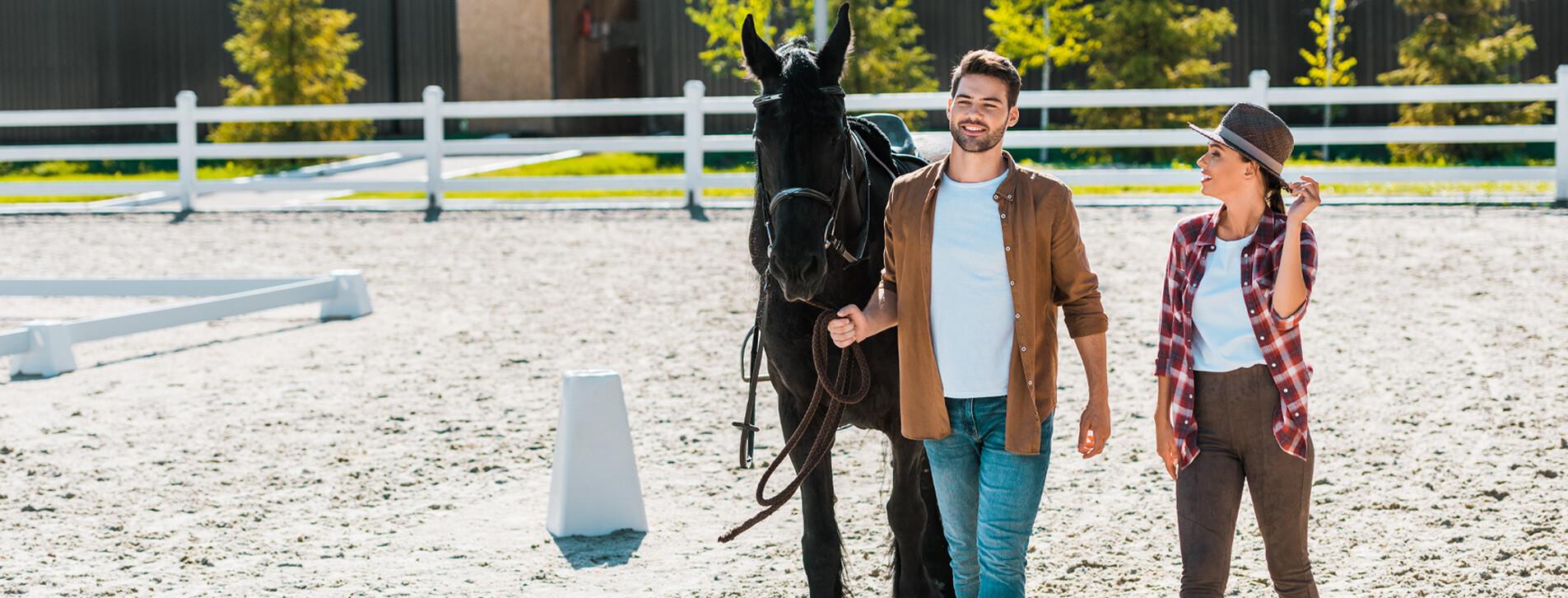Фото 1 - Уикенд в загородном конном клубе для двоих