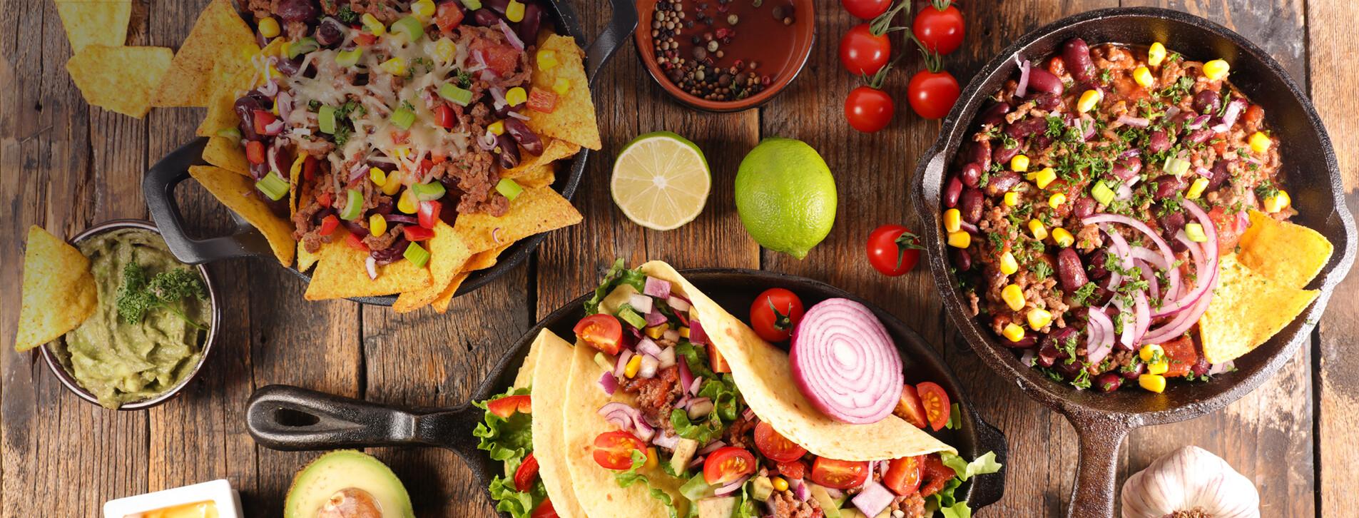 Фото 1 - Ужин в мексиканском ресторане