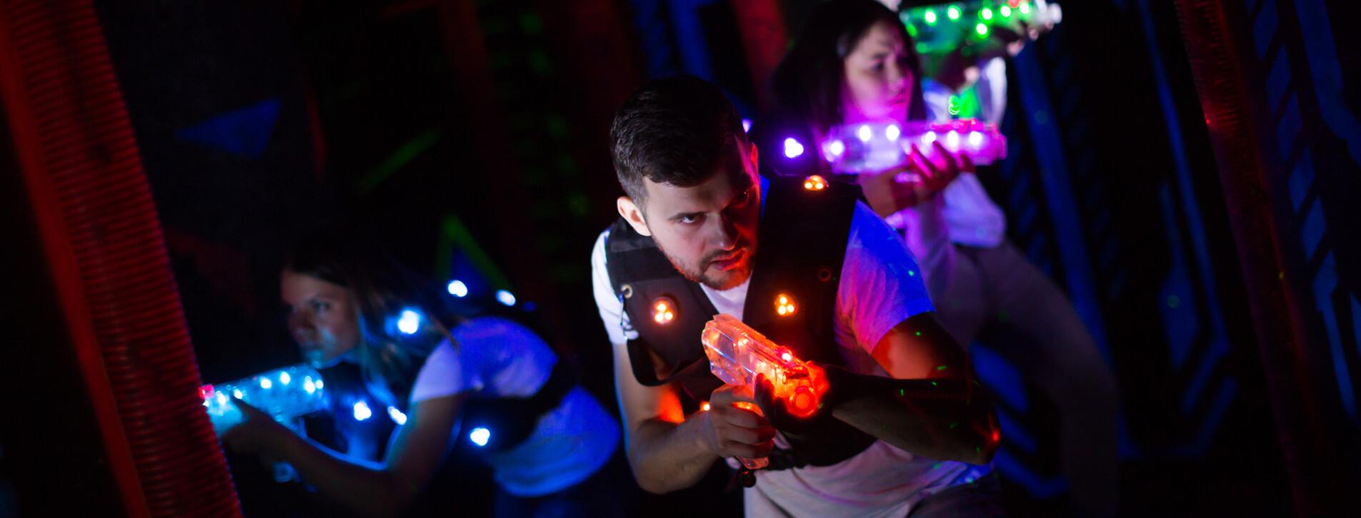 Фото 1 - Лазертаг с друзьями