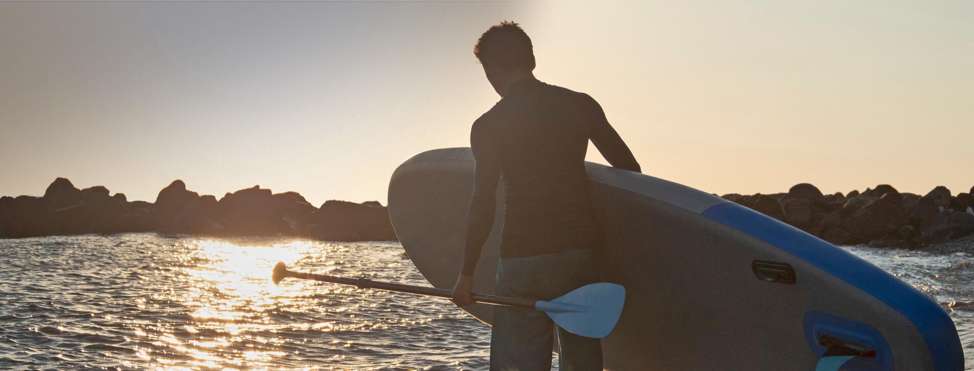 Фото 1 - SUP-серфинг на закате