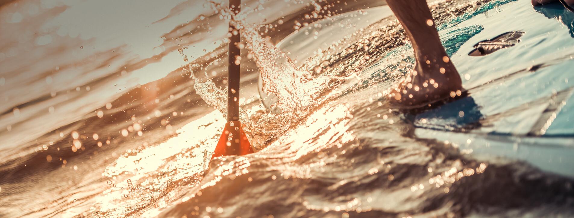 Фото 1 - SUP-серфинг на закате для двоих