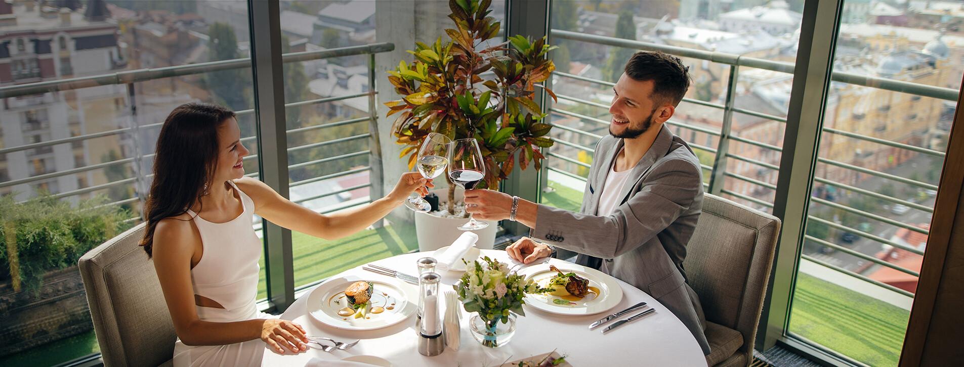 Фото - Ужин в ресторане с панорамным видом