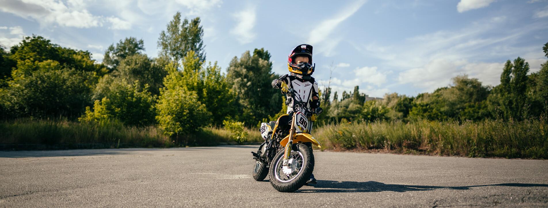 Фото 1 - Детский мастер-класс езды на мотоцикле