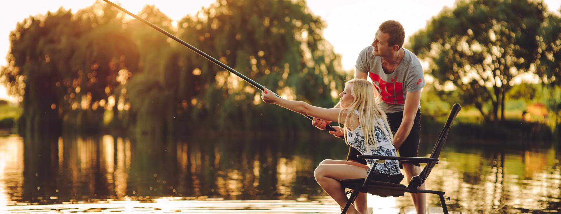 Фото 1 - Каникулы с рыбалкой в «Дельте Днепра» для двоих