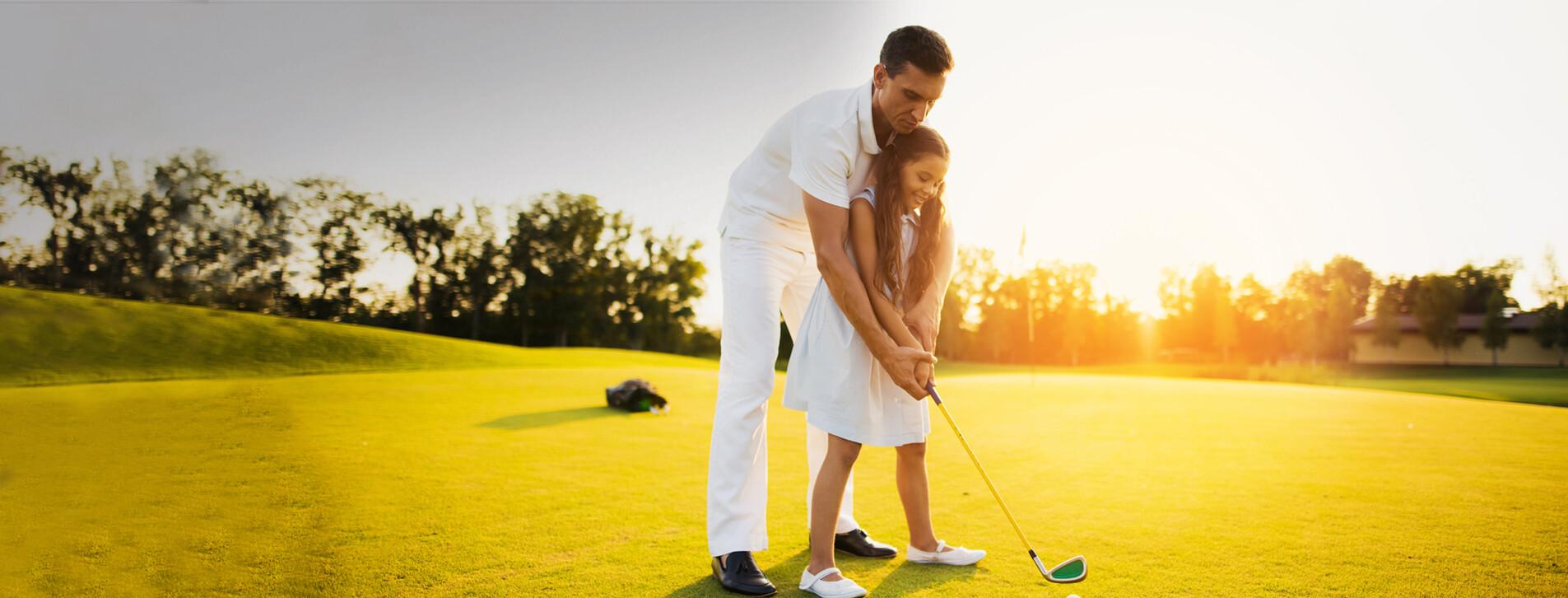 Фото 1 - Семейный уикенд в гольф-клубе