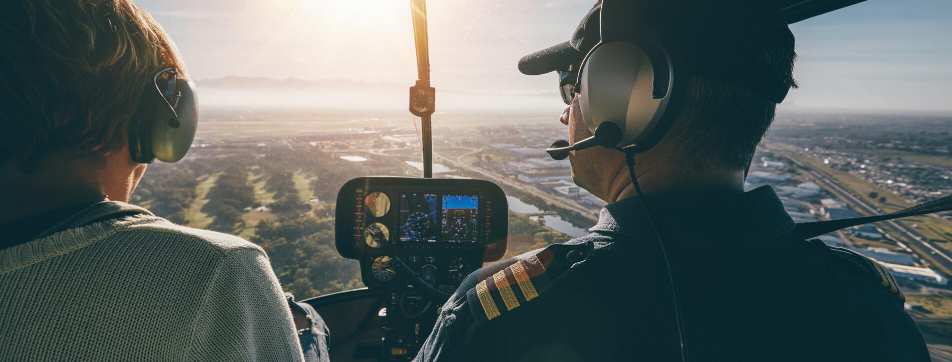 Фото 1 - Мастер-класс пилотирования вертолета Robinson R22