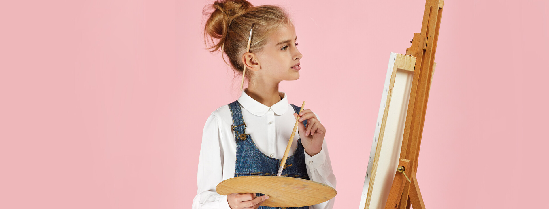Фото 1 - Детский мастер-класс живописи