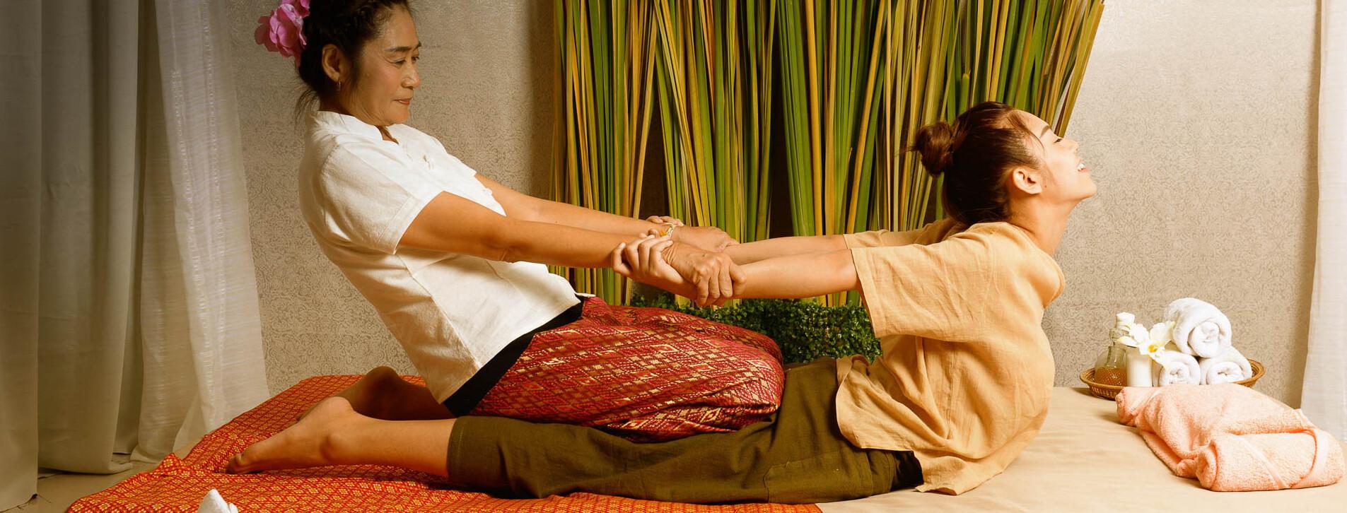 Фото 1 - Тайский массаж для двоих