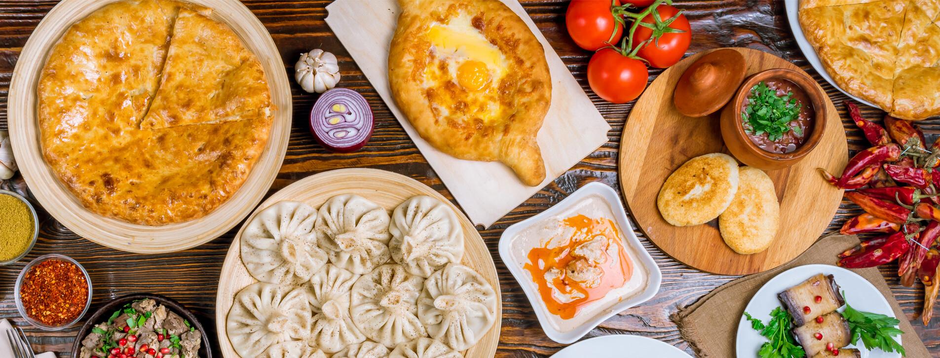 Фото 1 - Ужин в грузинском ресторане