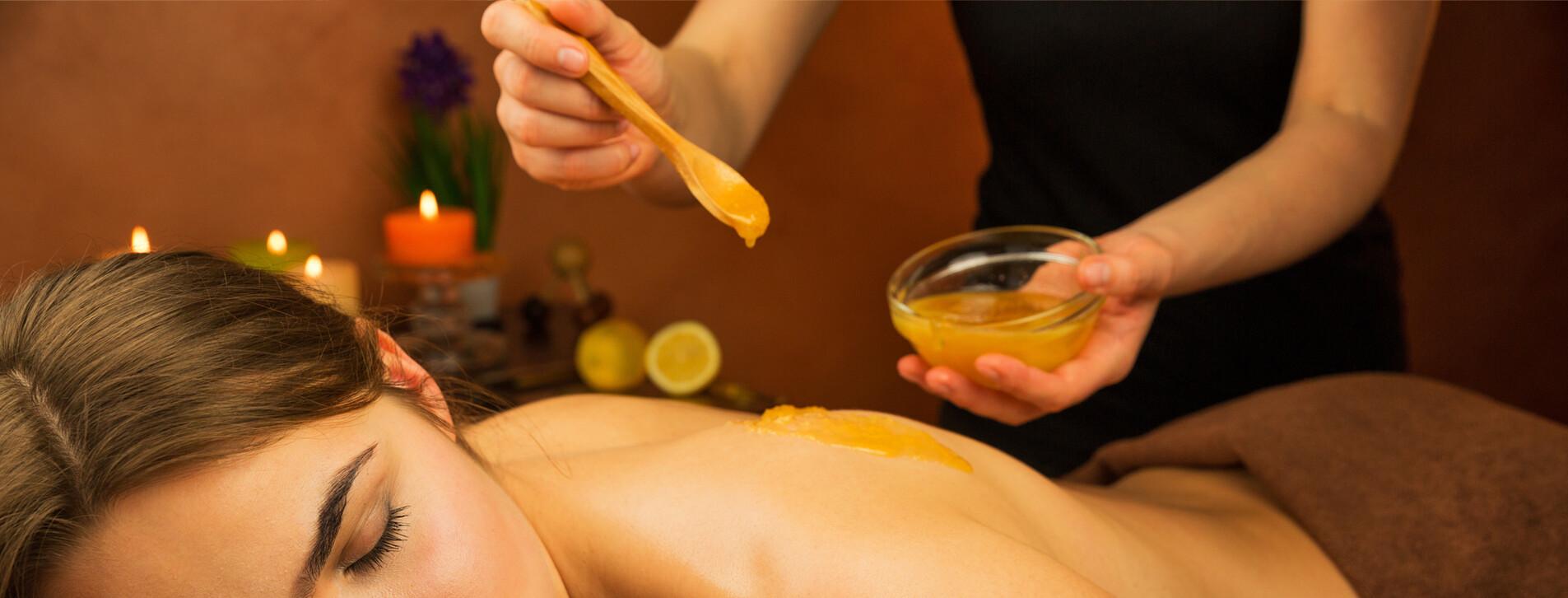 Фото 1 - Курс антицеллюлитного обертывания с медом