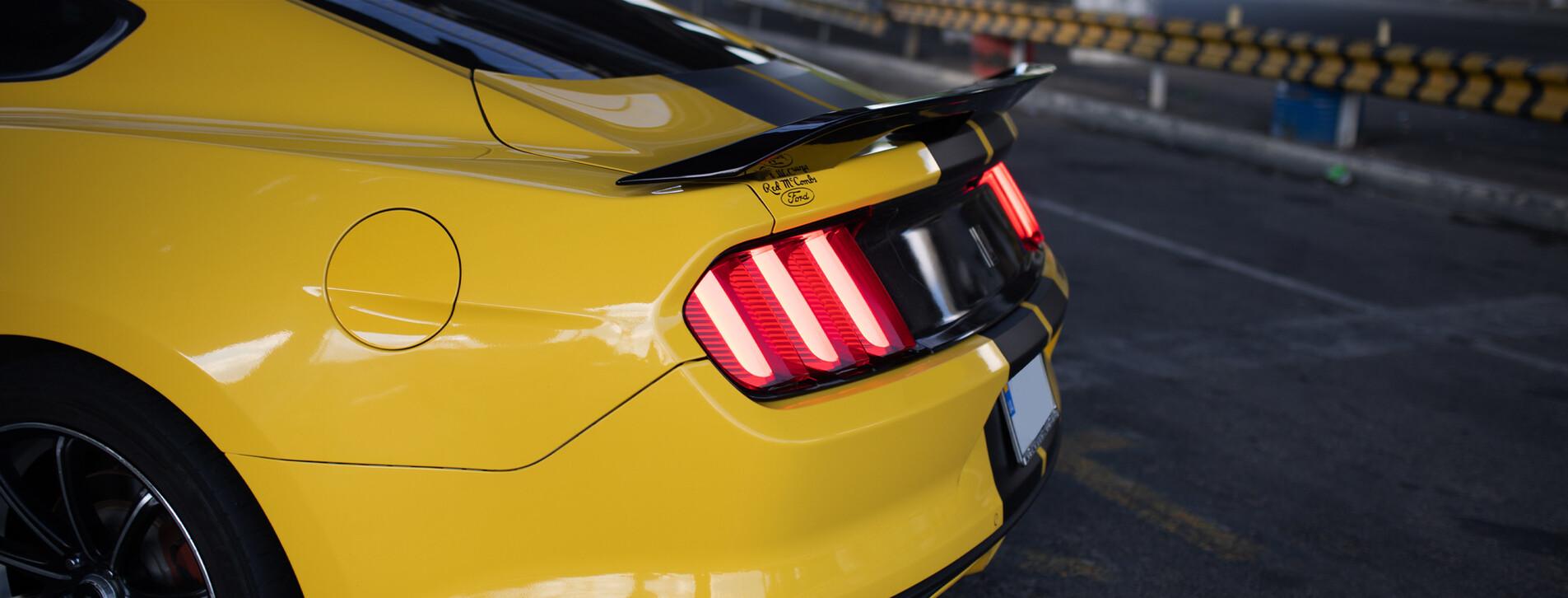 Фото 1 - Тест-драйв Ford Mustang в роли пассажира