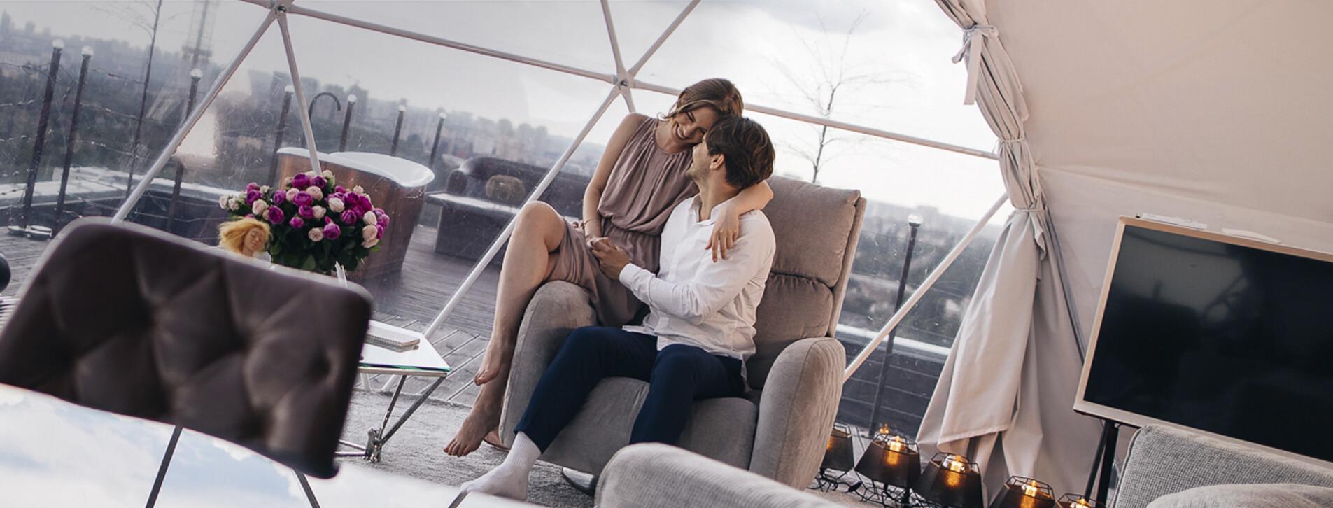Фото 1 - Эксклюзивное свидание на крыше в Cloud Rooftop