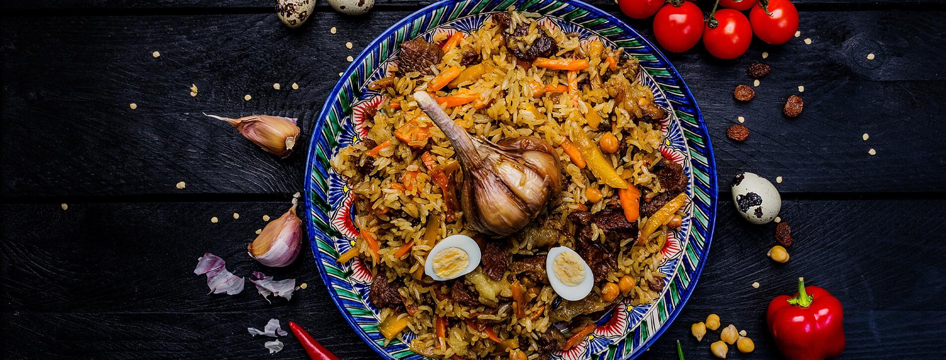 Фото 1 - Ужин в ресторане узбекской кухни Eshak