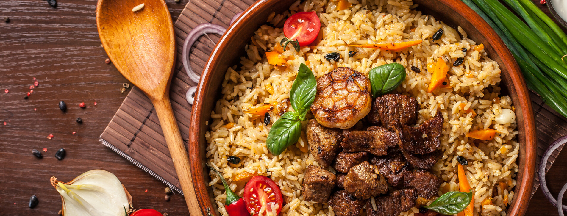 Фото 1 - Вечеря в ресторані узбецької кухні Eshak