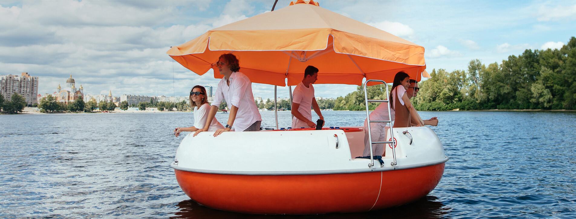 Фото 1 - Прокат Partyboat для компании