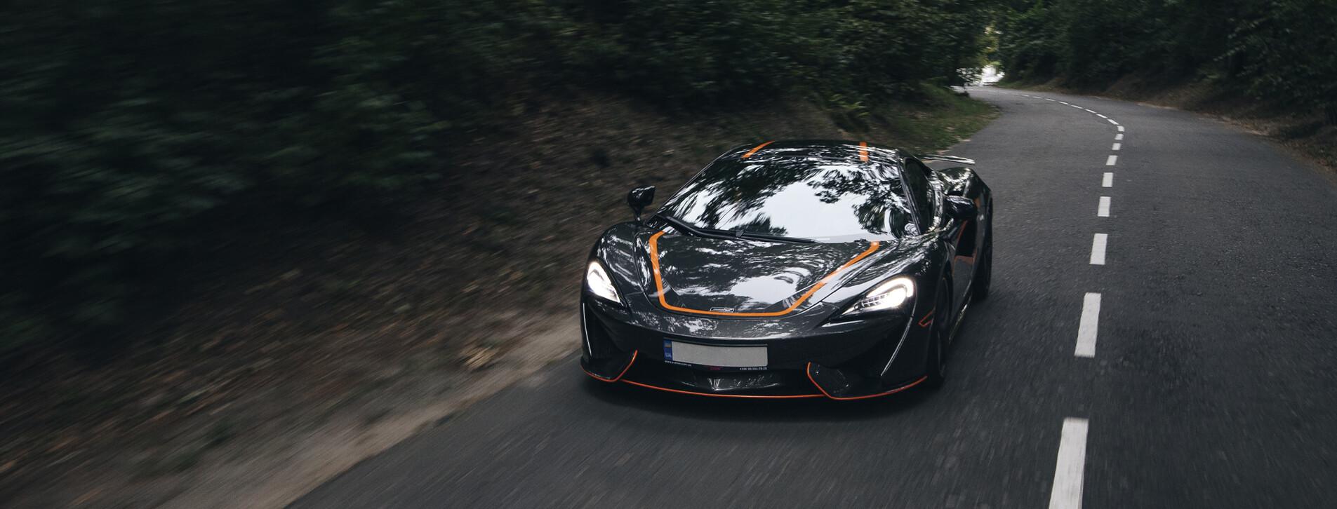 Фото 1 - Тест-драйв суперкара McLaren для двоих