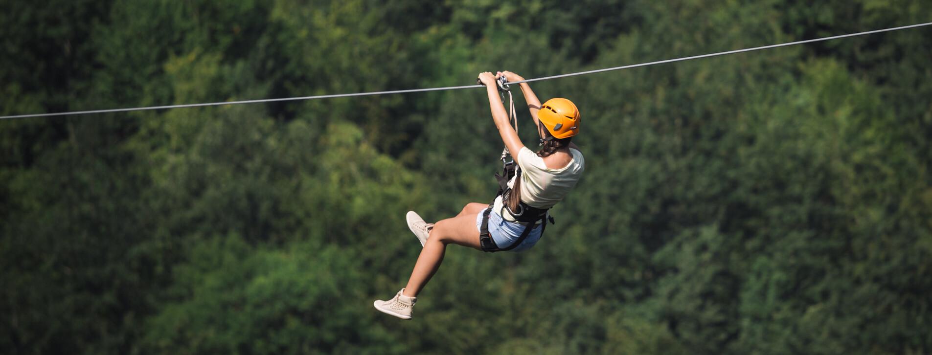 Фото 1 - Полет на Zip-line для компании