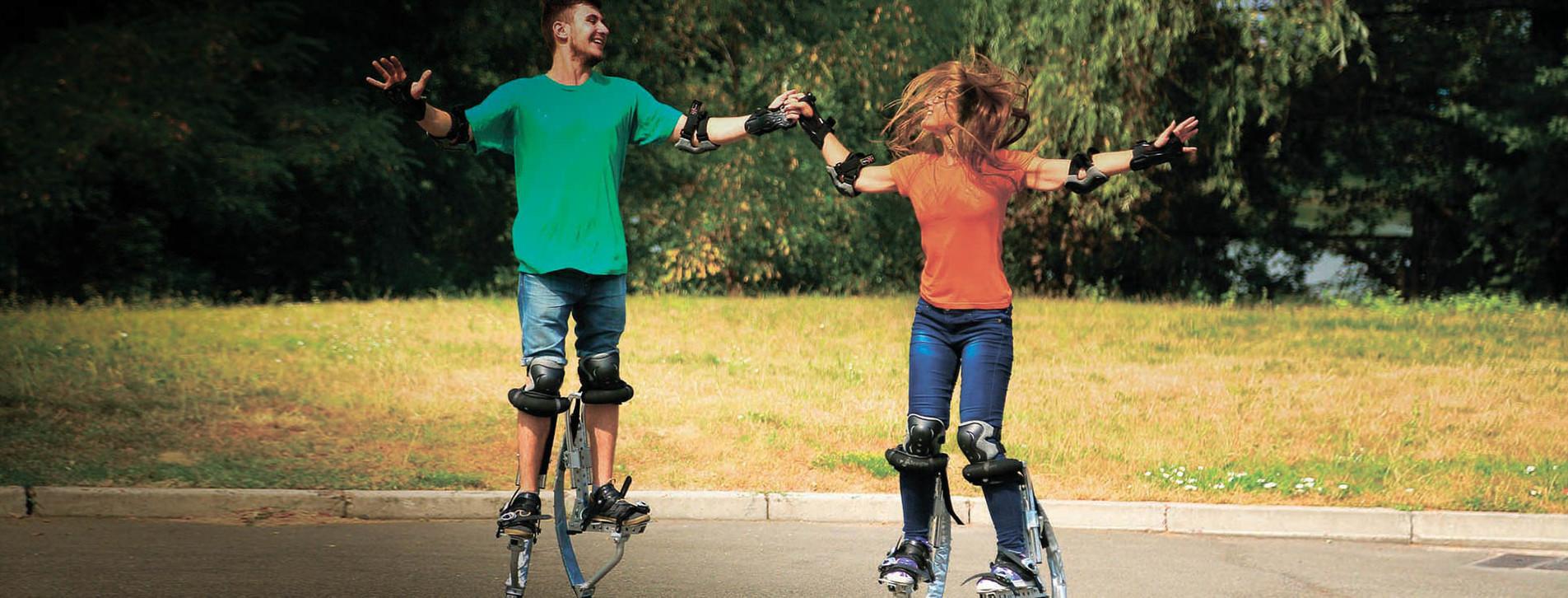 Фото - Прыжки на джамперах для двоих