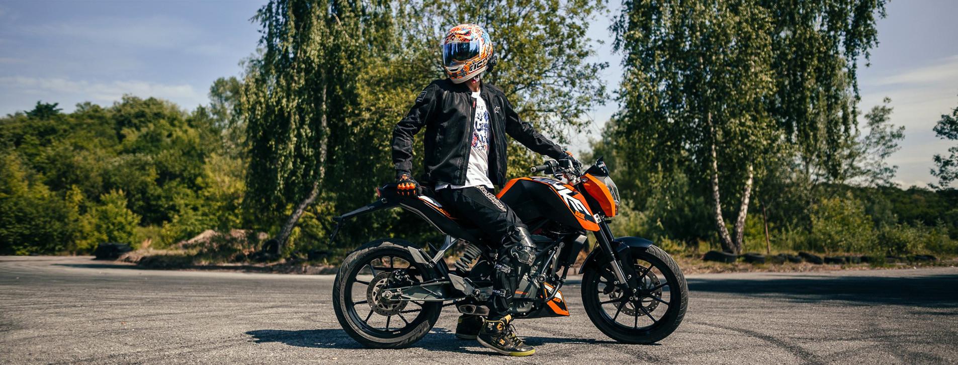 Фото 1 - Мастер-класс езды на мотоцикле