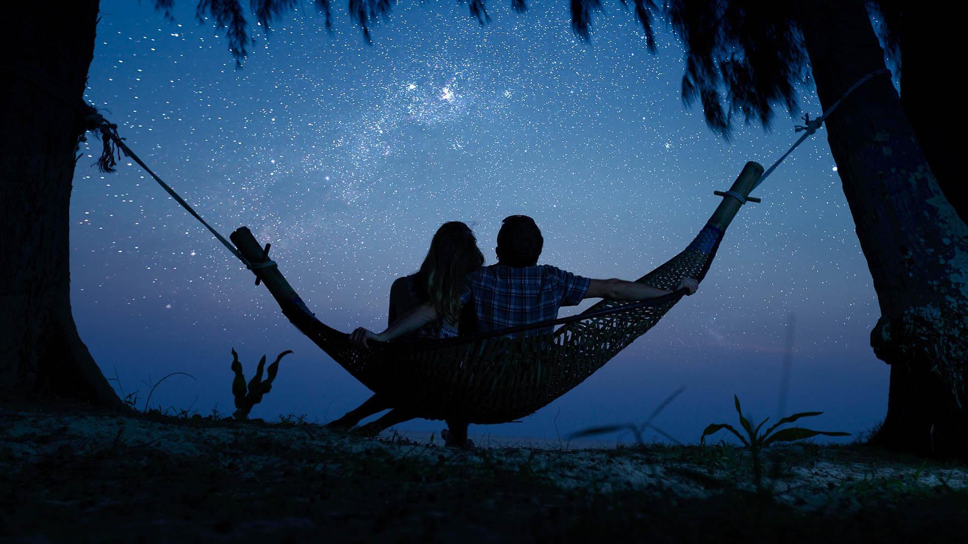 Романтичные картинки на ночь, для